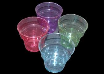 Pahar plastic colorate
